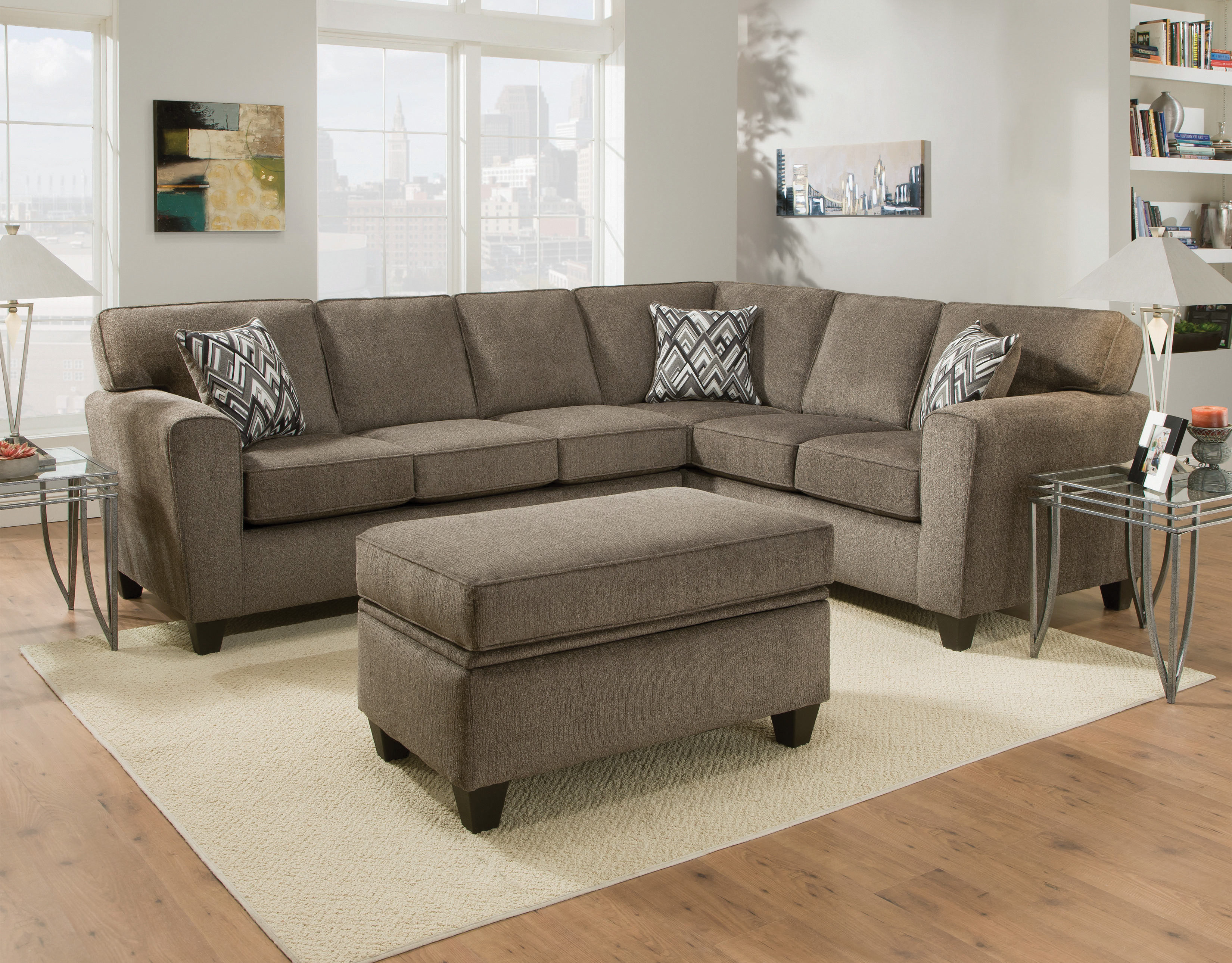 Peachy 3100 Cornell Pewter Sectional Awfco Catalog Site Pabps2019 Chair Design Images Pabps2019Com