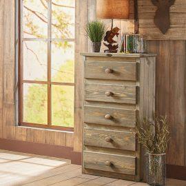 5955 Mossy Oak 5 Drawer Chest