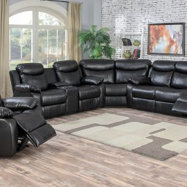 66003 Racer Black Sectional