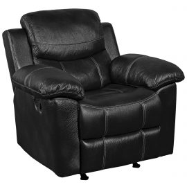 66008 Champion Black Recliner