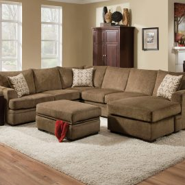 6800 Cornell Cocoa Sectional