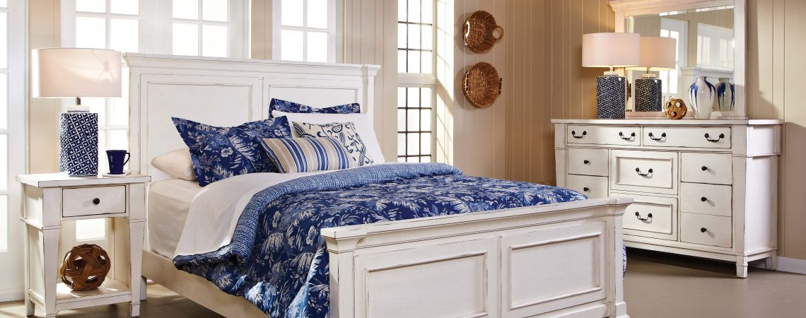 683 Stoney Creek White Bedroom Awfco Catalog Site