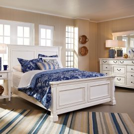 683 Stoney Creek White Bedroom