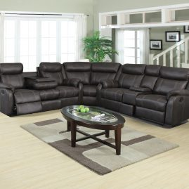 L7303 Gin Rummy Charcoal Sectional