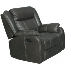 7303 Gin Rummy Charcoal Recliner