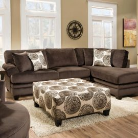 8642 Groovy Chocolate Sectional