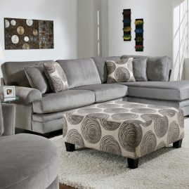 8642 Groovy Smoke Sectional