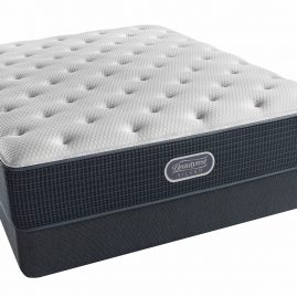 Courtyard Blue Tight Top Plush Mattress