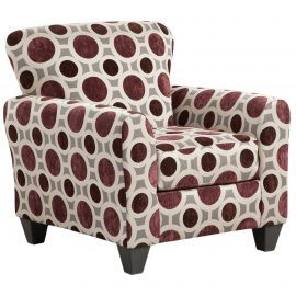 9001 Conspiracy Mulberry Accent Chair