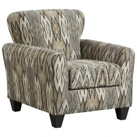 9001 Décor Mocha Accent Chair & Accent Ottoman