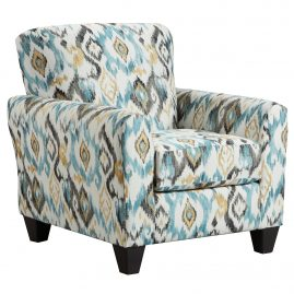 9001 Morph Capri Accent Chair & Cocktail Ottoman
