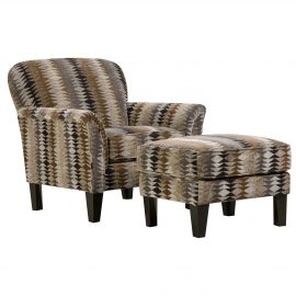 AC2151 Timbuktu Saddle Accent Chair & Accent Ottoman
