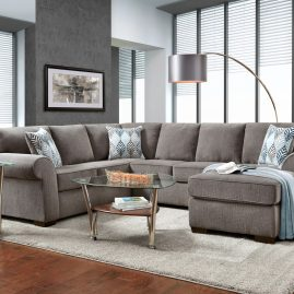 3050 Charisma Smoke Sectional