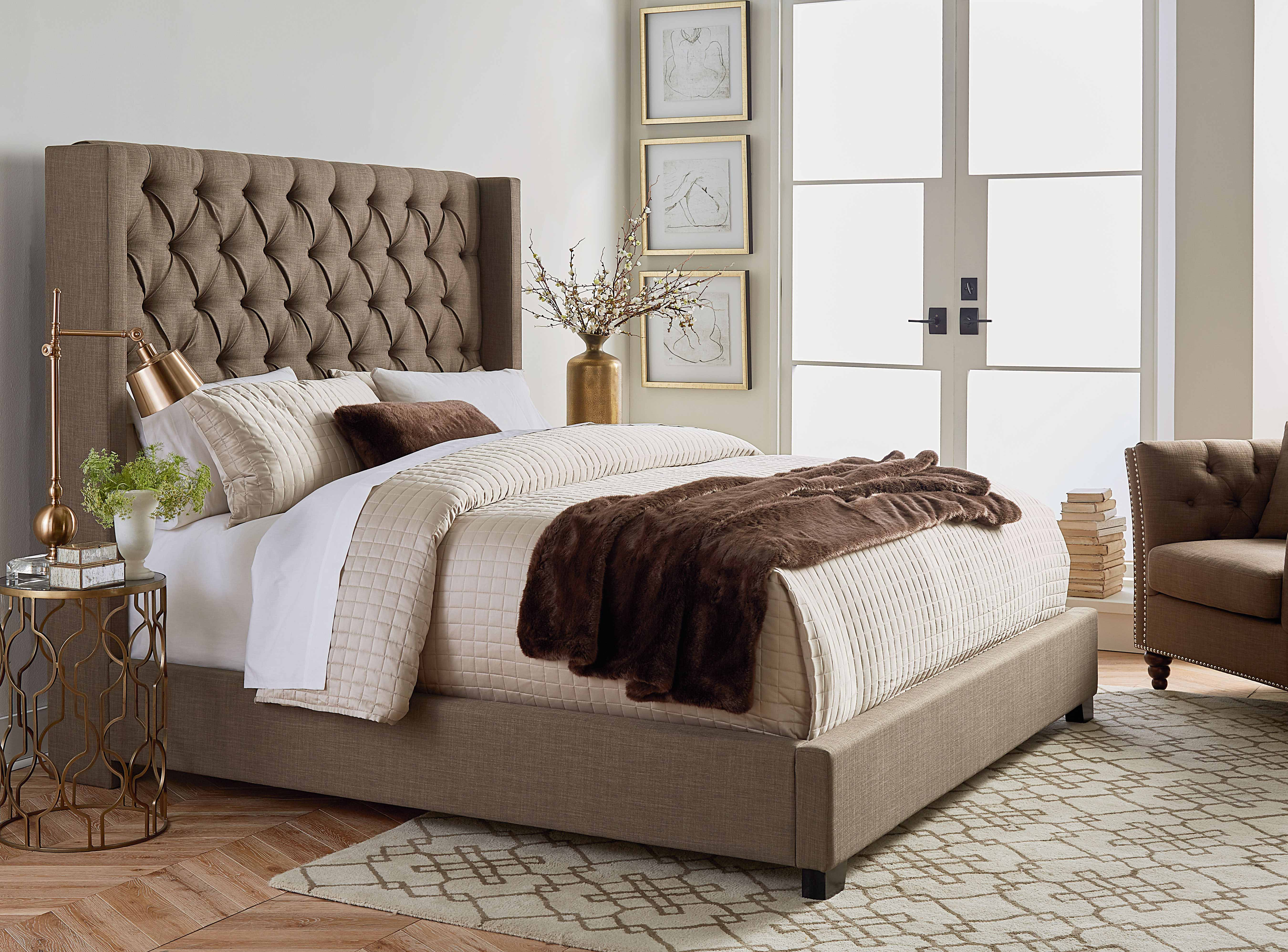 94250 Westerly Upholstered Bed Awfco Catalog Site