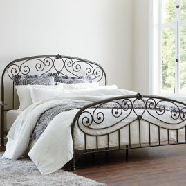 99900 Lillian Black Bed