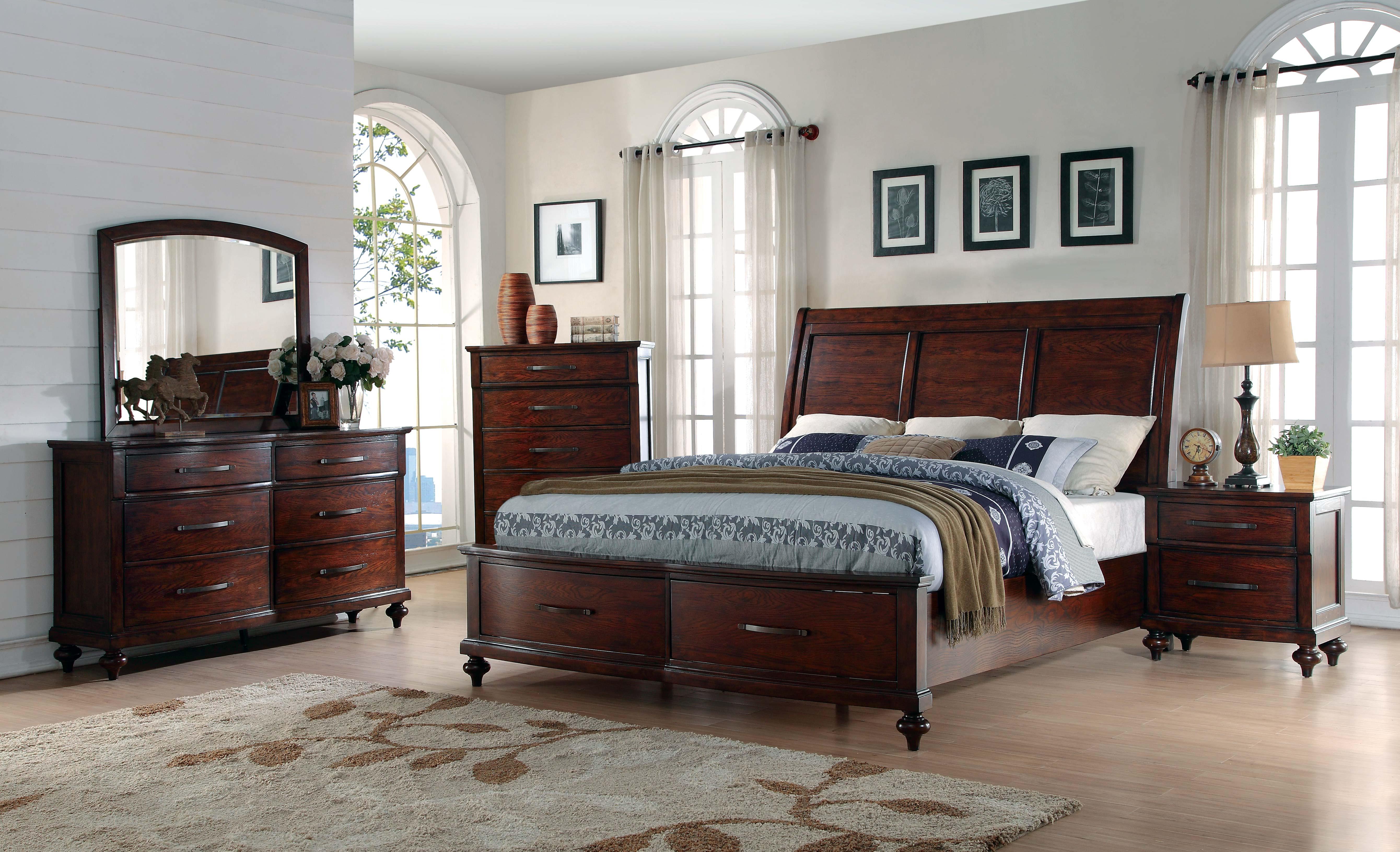Merveilleux B1033B La Jolla Ranchero Storage Bedroom