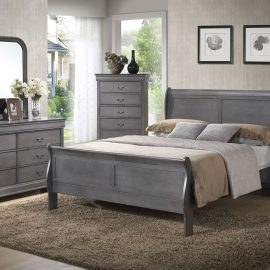 C4934A Grey Louis Philippe Bedroom