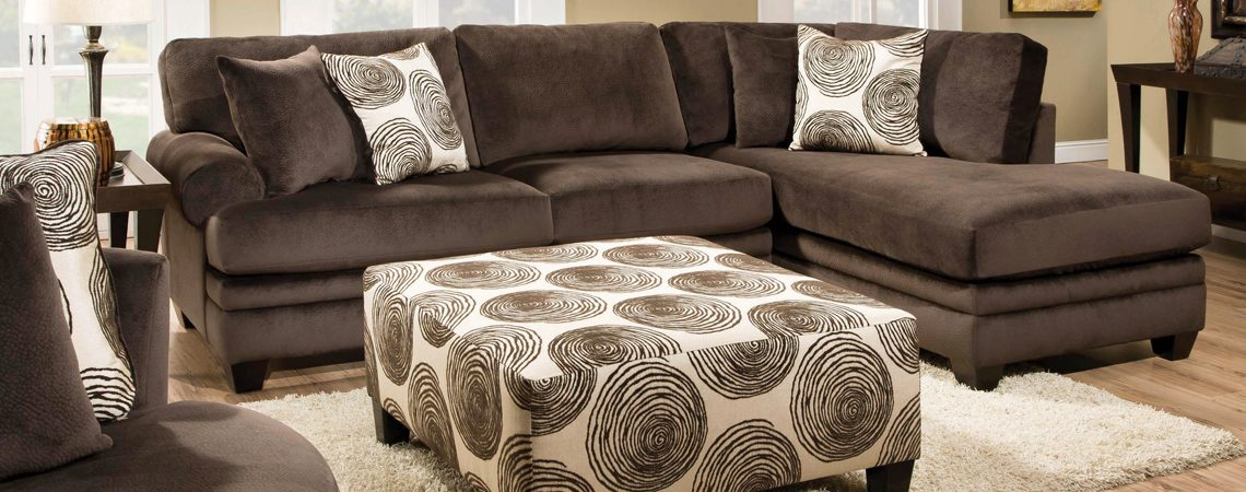 8642 Groovy Chocolate Sectional - AWFCO Catalog Site